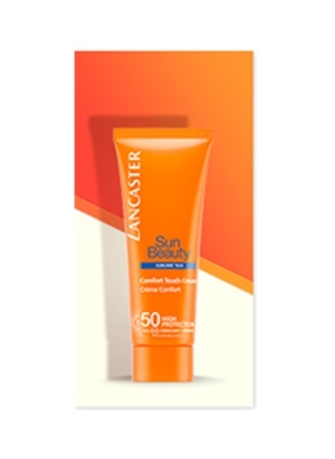 Lancaster Sun Beauty Comfort Touch Cream Gentle Tan Spf50 75 Ml  Renksiz